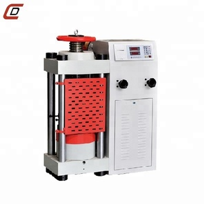 Soil Laboratory Equipment Compression Testing Machine With Concrete Slump Test