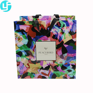 Factory Wholesale Customized Art Funny Gift Paper Bags
