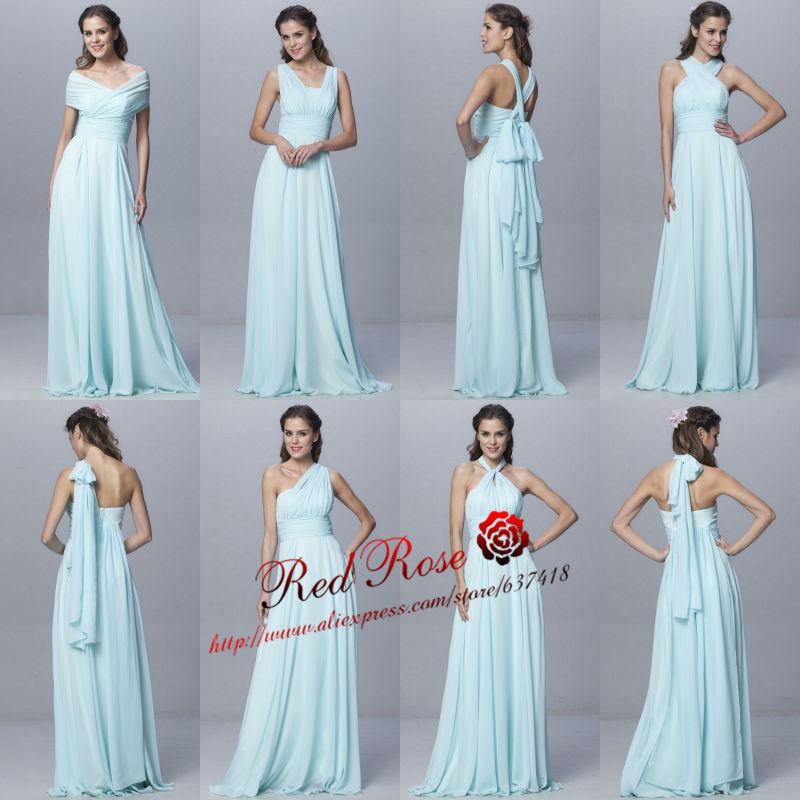 Wedding Hairstyles For Jr Bridesmaids: Aliexpress.com : Buy 2015 Mint Green Long 6 Convertible