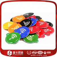 Numbering System Ear QR Code Access Control Read Only 125KHz Sticker T5577 TK4100 RFID Tag