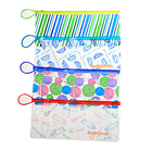 Wholesale pvc pouch with zipper and loop