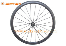 High quality road bike wheels 38mm carbon clincher wheelset