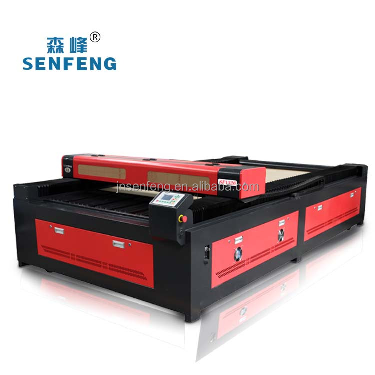 SF 1326 CO2 80W 100W CO2 laser cutting acrylic machine in jinan factory
