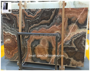 Book match onyx slabs and marble table top foshan translucent onyx staircase for hotel decoration onyx marble furniture