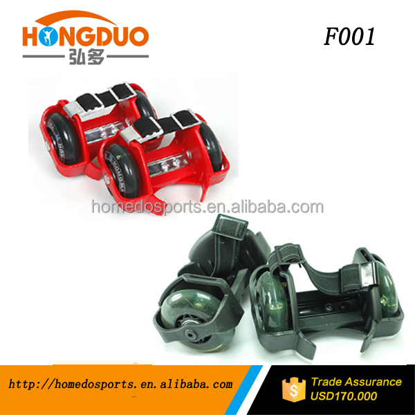 Piscando roller skate/piscando roda shose/light-up patins