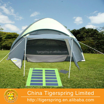 orange solar tent for sale with detachable solar panel & Orange Solar Tent For Sale With Detachable Solar Panel - Buy ...