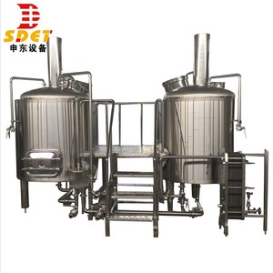 Nano Pub hotel restaurant craft beer making machine brewhouse system 3bbl brewery equipment for sale