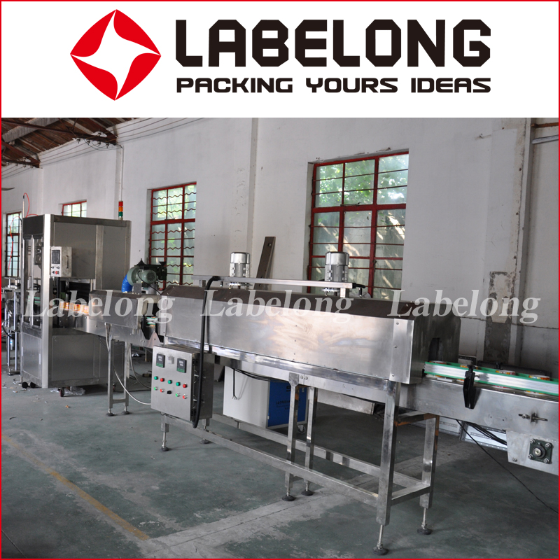 Professional Factory Price China Manufacturer round bottle shrink sleeve labeling machine