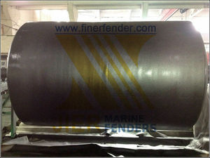 Marine Solid EVA Foam Filled Floating Fenders For Ship to Dock Berthing