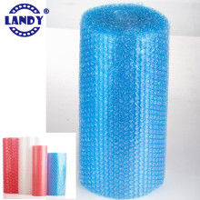 custom color plastic bubble film wrap,blue bubble packing wrap