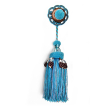 Quick delivery wholesale long small craft tassels for clothing