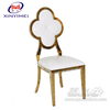 China Manufacture New Style Wedding Party Banquet Metal Dining Chair