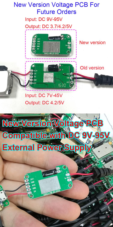 Rastreador GPS antirrobo para ordenador portátil de fácil instalación, dispositivo de seguimiento GPS universal DC 6V-48V para TV/vehículo/bicicleta/Ebike/moto