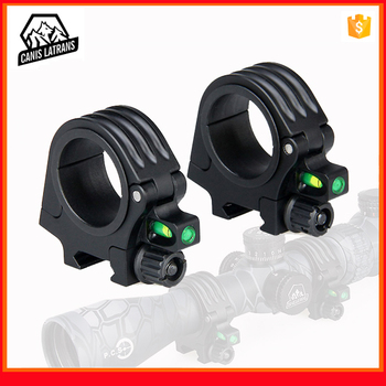 AR15 accessories tactical hunting aluminum 30mm 35 mm scope mount ring with bubble level fit 20mm picatinny rail for rifle scope