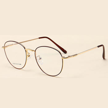c83d82d8fd Vintage Metal Optical Frames Wholesale New Eyeglass Round Shape Glasses For  Girl And Boy