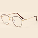 Vintage Metal Optical Frames Wholesale New Eyeglass Round Shape Glasses For Girl And Boy