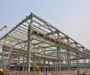 China Prefab Welding Steel Structure Frame Workshop