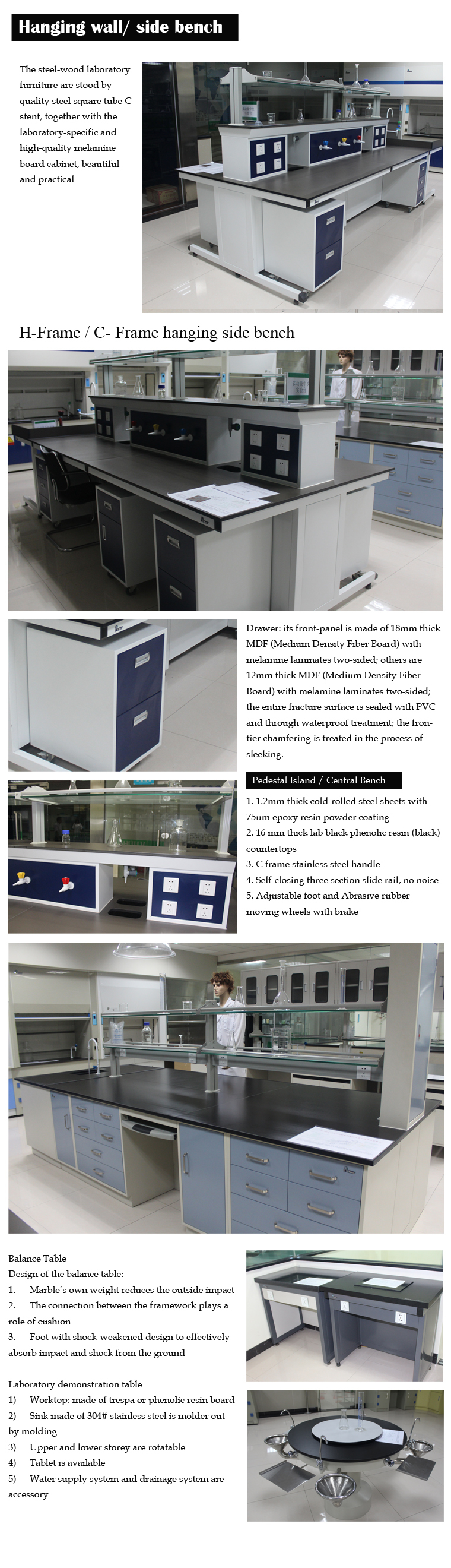 Best Chinese Lab Bench Supplier!!! Lab Furniture Use In School ...