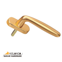 Anodized Double Glazing PVC Espag Window Handle