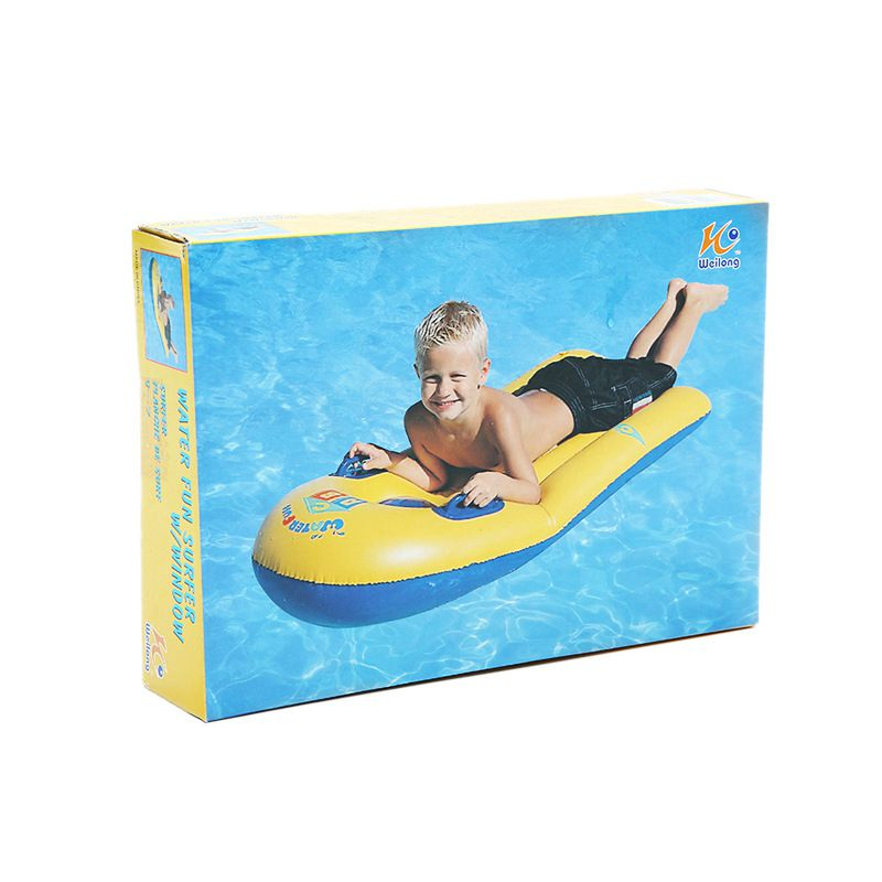 Kid Surfboard Floating Mat Inflatable Surfboard Kids Floating Toys
