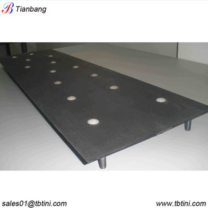 Baoji Tianbang supplier nickel or titanium anode for chlor alkali industry