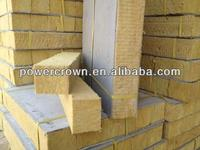 heat insulation rock wool production line/mineral wool insulation board with aluminium foil facing