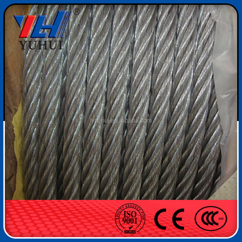 Wire Rope Slings Galvanized Steel Wire Rope 1inch Size - Buy Steel ...