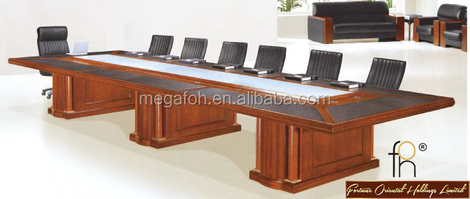 Amazing High Top Executive Conference Desk /Meeting Table With Cable Management  (FOHH 6017)