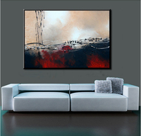 100% Handmade oil painting modern abstract art canvas handpaint acrylic painting wall art for living room decor