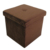 Square Foldable Storage Box Table Footstool Ottoman
