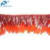 China Manufacturer Horng Shya HS-250 Goose Biot-Stripped Cocktail Fringe Goose Feather Fringe Trim