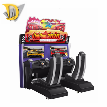 Factory price Out Run 4d simulator arcade racing car game machine for sale,  View arcade game machine, Dream world Product Details from Guangzhou Dream