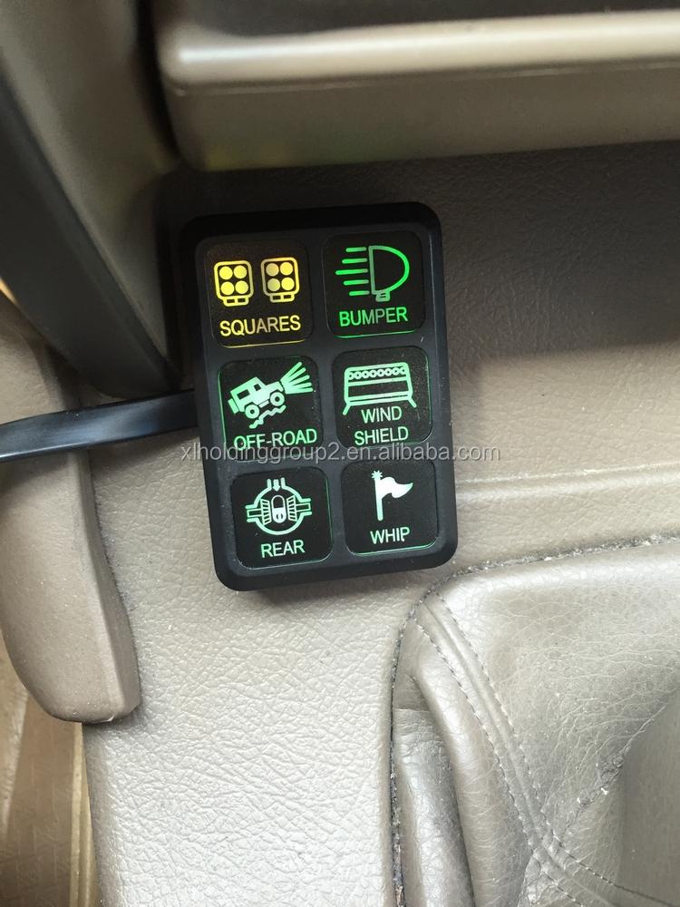 Automotive ATV 4x4 Jeep JK 12 V Led Universal WIPPSCHALTER mit ...
