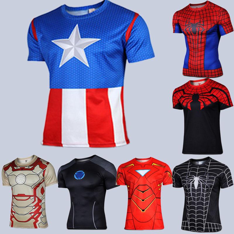 camisa de ironman al por mayor de alta calidad de China
