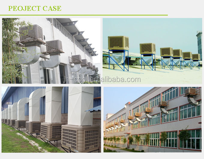 Low Power Consumption Wall Window Mounted Evaporative Air