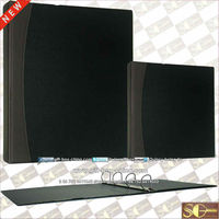 Faux leather D ring binder