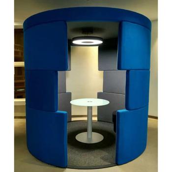 Kundenspezifische Sitzbestuhlung Fur Intelligente Burotelefonzelle