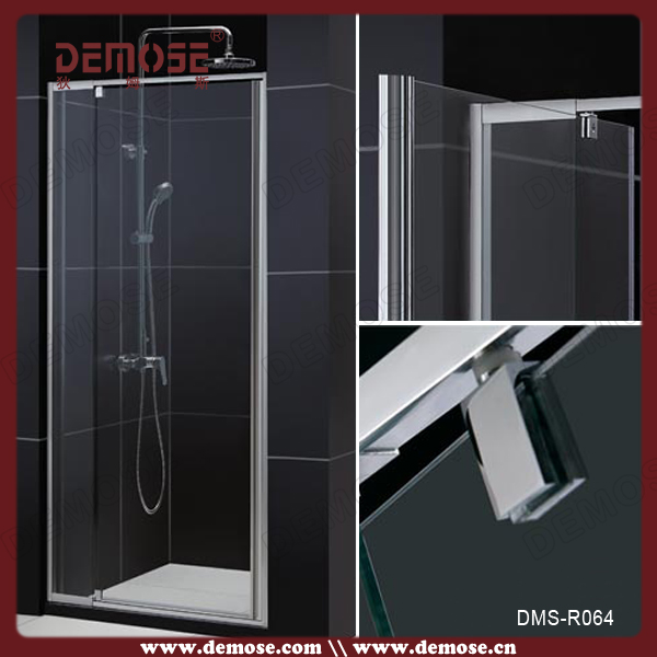 Sliding Plastic Frame Glass Clips Shower Door Parts