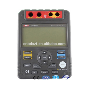 UT513A Digital and analog display megger insulation resistance tester