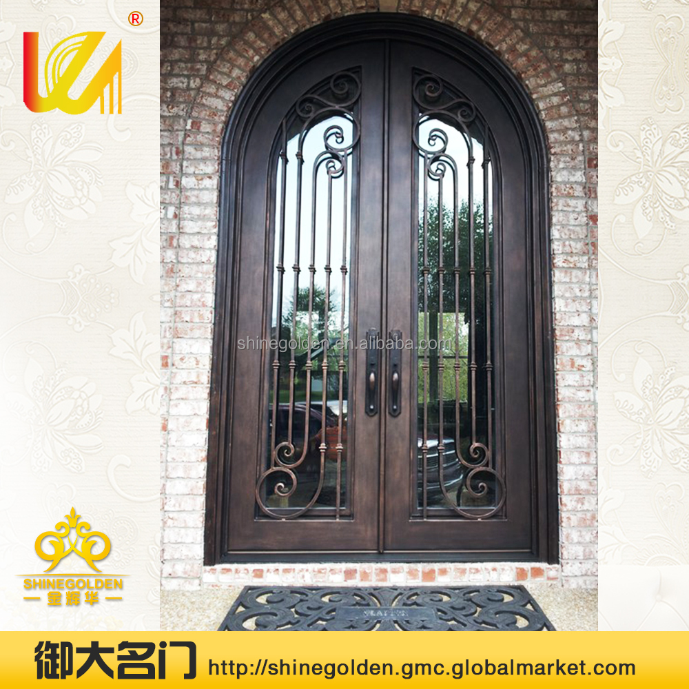 hot sale top galvanized steel door with glass for villa buy steel steel doorsteel doors for sale product on alibabacom