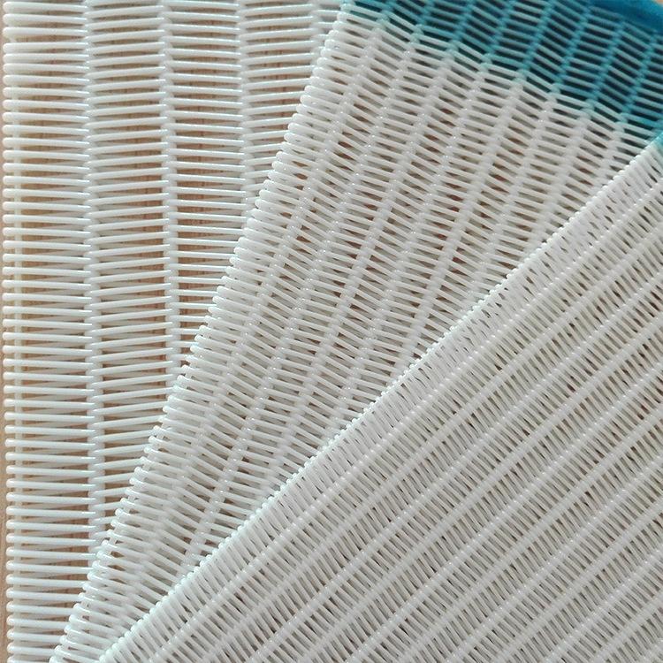 Fabricação de papel tecido de tela de malha de poliéster secador espiral correia transportadora
