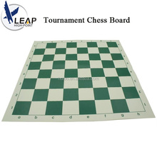 2017 top selling custom Vinyl Tournament Chess Board game