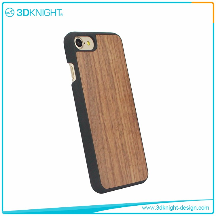 Hot New 2017 Products For iPhone 7 Case, Ultra Thin wood PC Case Cover For iPhone 7