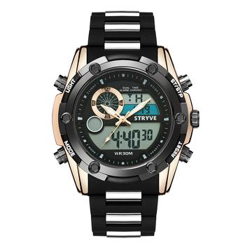 Gran oferta de reloj para hombre, reloj deportivo con LED