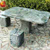 Garden marble stone living room table set for piano furniture