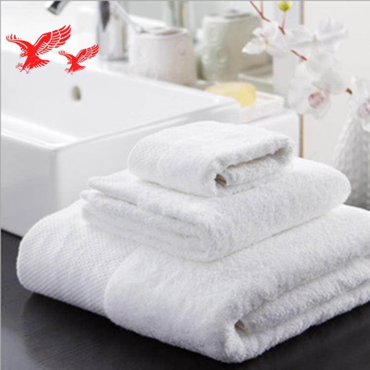 Manufacturers Wholesale Cheap Soft 100% Cotton Luxury Hotel White Bath Towel Set