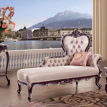 Tyx601-european Estilo Antiguo Sofá Chaise Lounge Silla De Muebles ...