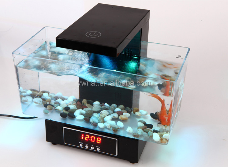 Multifunctional Led Usb Desktop Aquarium Mini Aquariums Fish Tank ...