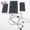 battery power 3.7V 5V 7.4V 12V far infrared carbon fiber electric heating pad