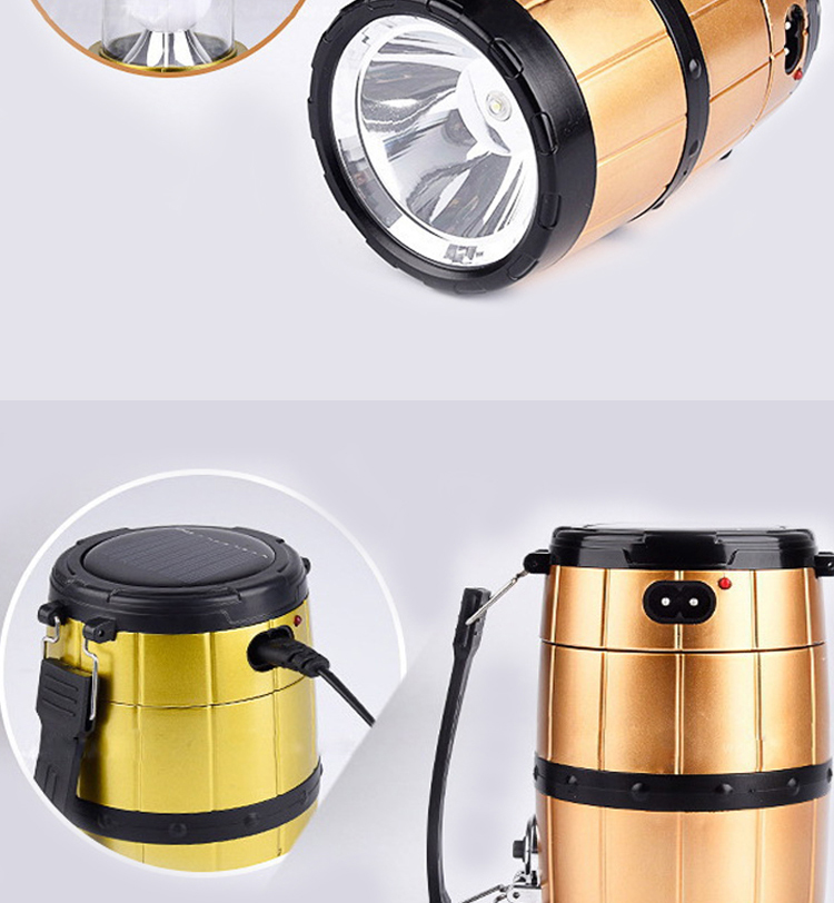 Wholesale Outdoor outdoor indoor camping 60 led lamp portable lantern fishing light with lampshade circle tent